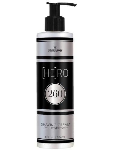 Krém na holení s feromony pro muže (HE)RO 260