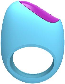 Vibrační erekční kroužek Lifeguard Ring Vibe - ovládaný mobilem – Vibrační erekční kroužky
