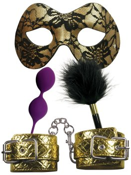 Sada erotických pomůcek Masquerade Party – BDSM sady