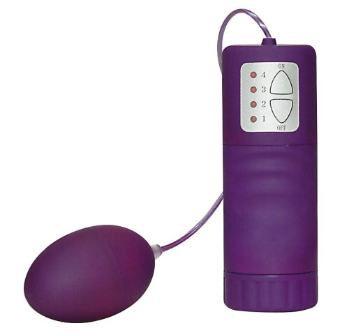 Vibrační vajíčko Velvet Purple Pill, fialové