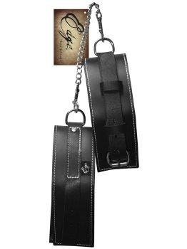 Kožená pouta na paže Edge – Pouta, lana a pomůcky pro bondage