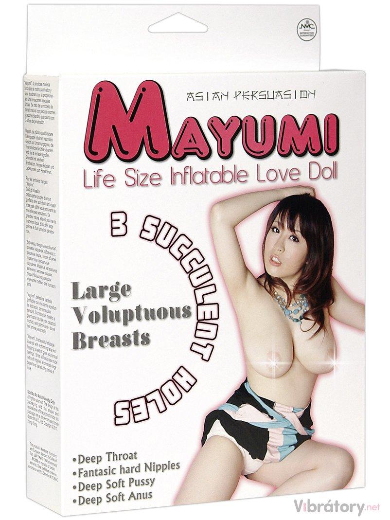 Nafukovací panna Mayumi