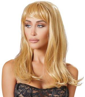 Paruka Yvette - dlouhá, blond – Paruky a příslušenství k parukám