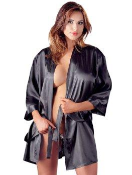 Saténové kimono s krajkovým zadním dílem – Kimona, župánky a negližé