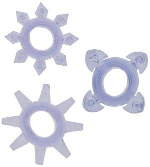 Erekční kroužky Tickle - se stimulačními výstupky – Sady erekčních kroužků