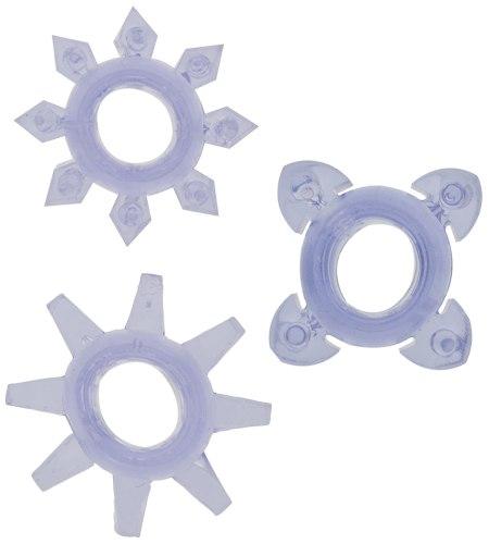 Erekční kroužky Tickle - se stimulačními výstupky