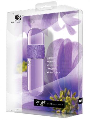 Stylový minivibrátor B3 Onye Fleur Lavender