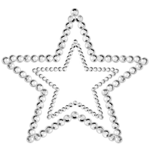 Samolepicí ozdoby na prsa MIMI Star