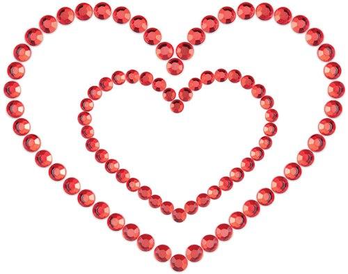 Samolepicí ozdoby na prsa MIMI Heart