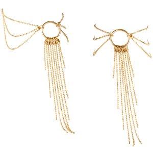 Ozdoba na kotníky Magnifique, zlatá – Vzrušující intimní šperky, ozdoby a bižuterie