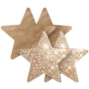 Samolepicí ozdoby na bradavky Nippies Superstar Star – Vzrušující intimní šperky, ozdoby a bižuterie