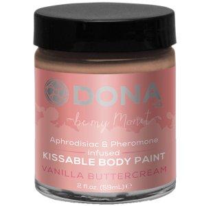 Slíbatelný bodypainting s afrodiziaky a feromony - vanilkový krém – Bodypainting, malování na tělo