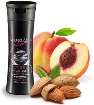 Luxusní masážní olej Voulez-Vous Mandle a broskev – Erotické masážní oleje a emulze