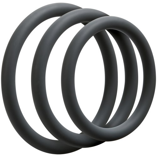 Sada tenkých erekčních kroužků OptiMALE Thin
