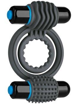 Dvojitý vibrační erekční kroužek OptiMALE – Vibrační kroužky