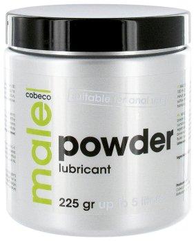 Práškový lubrikační gel MALE POWDER – Lubrikační gely na vodní bázi