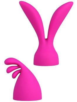 Stimulační násady PalmPleasure (k masážní hlavici PalmPower) – Vibrační přístroje s masážní hlavicí