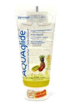 Lubrikační gel Aquaglide exotické ovoce – Lubrikační gely s příchutí (ideální na orální sex)