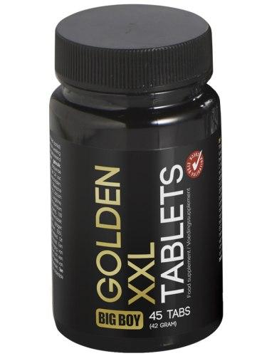 Tablety pro větší penis a více mužnosti BIG BOY Golden XXL
