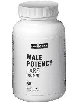 MALE POTENCY TABS - pro intimní, psychické i fyzické zdraví mužů – Podpora erekce - prášky, krémy, gely