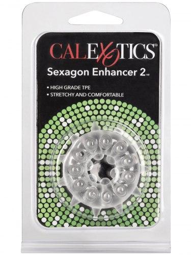 Dráždivý erekční kroužek SEXAGON ENHANCER 2