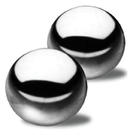 Netradiční vaginální kuličky Ben-Wa Steele Balls