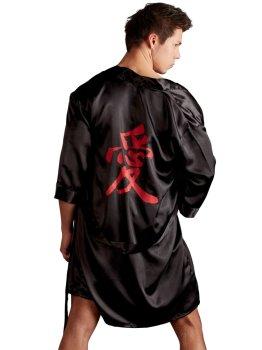 Luxusní pánské saténové kimono – Ostatní pánské oblečení