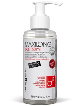 Lubrikační gel s okamžitým efektem zvětšení penisu MAXILONG – Hřejivé a dráždivé lubrikační gely (prokrvující)