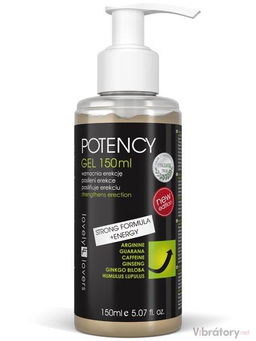 Lovely Lovers POTENCY Gel STRONG FORMULA + ENERGY 150ml
