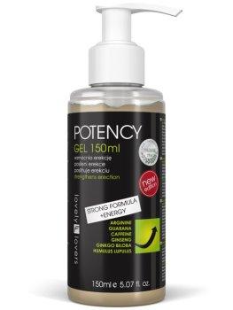Lubrikační gel pro silnější erekci POTENCY – Hřejivé a dráždivé lubrikační gely (prokrvující)