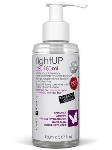Lubrikační gel s efektem zpevnění a zúžení vaginy TightUP