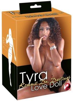 Nafukovací panna Tyra (černoška) – Nafukovací panny