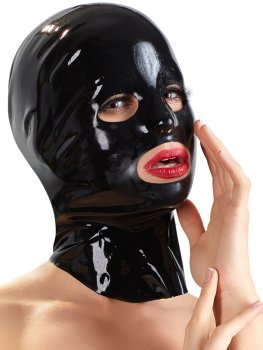 Latexová maska - anatomicky tvarovaná, unisex – Latexové oblečení pro ženy