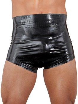 Latexové plenkové kalhotky, unisex (černé) – Adult baby (dospělé mimino)