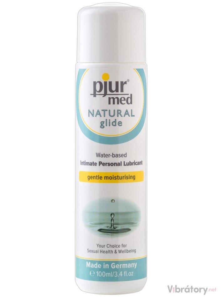 Lubrikační gel Pjur Med Natural Glide, 100 ml