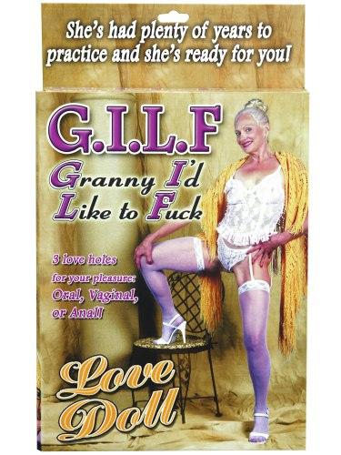 Nafukovací babička GILF