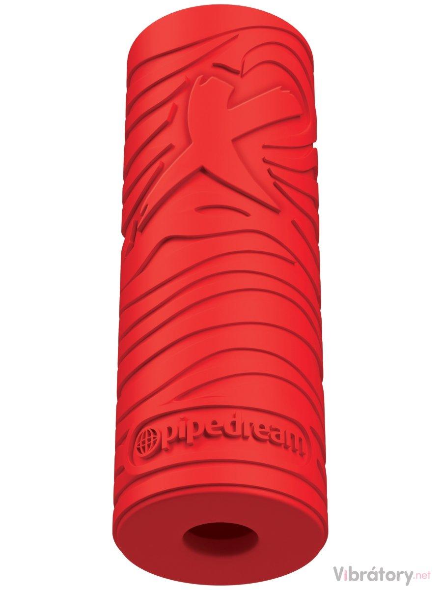 Pipedream Masturbátor pro muže EZ Grip Stroker - červený
