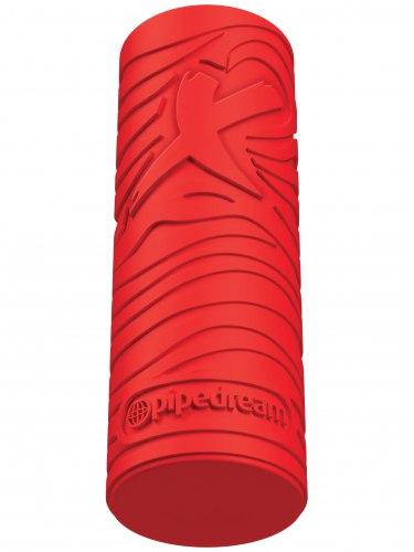 Masturbátor pro muže EZ Grip Stroker - červený