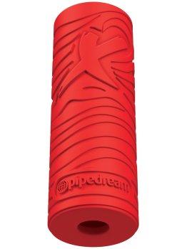 Masturbátor pro muže EZ Grip Stroker - červený – Masturbátory bez vibrací (honítka)