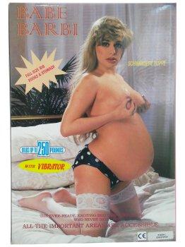 Těhotná nafukovací panna Babe Barbi – Nafukovací panny