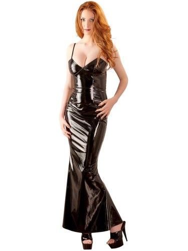 Dlouhé lakované šaty