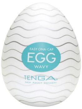 Masturbátor TENGA Egg Wavy – Masturbátory a honítka TENGA
