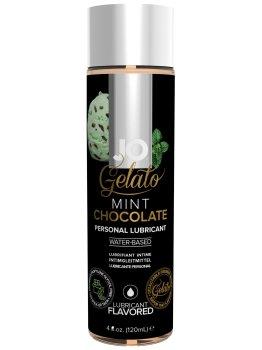 Lubrikační gel System JO Gelato Čokoláda s mátou – Lubrikační gely s příchutí (ideální na orální sex)