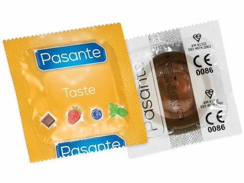 Kondom Pasante Taste Chocolate Temptation - čokoláda