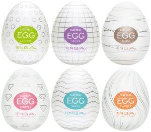 Výhodné balení masturbátorů TENGA Egg, 6 ks – Masturbátory a honítka TENGA