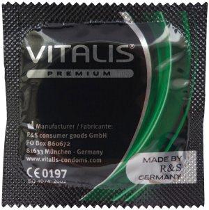 Kondom Vitalis Apple - jablko – Kondomy s příchutí na orální sex