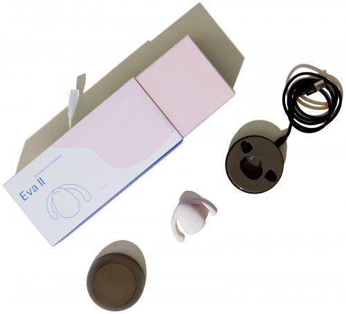 Párový vibrátor pro stimulaci klitorisu Eva II