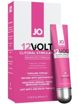 Stimulační gel na klitoris System JO 12Volt – Stimulační krémy a gely na penis, klitoris, bod G i bradavky