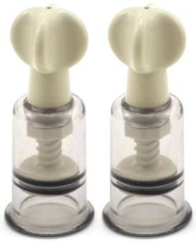Vakuová pumpička na bradavky a klitoris, sada 2 ks – Vakuové pumpy pro ženy