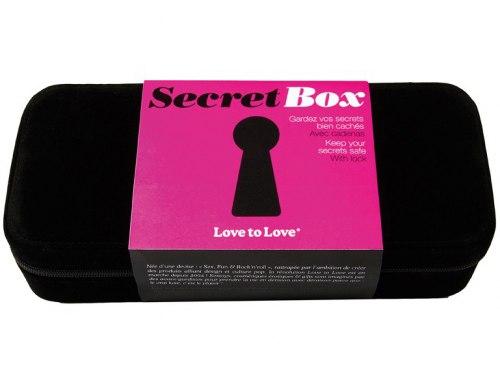 Luxusní kufřík na erotické pomůcky Secret box